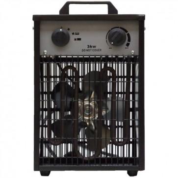 Електрически калорифер ZOBO - ZB-EF3 - 3,0 kW, 280 м3/ч., 13 A