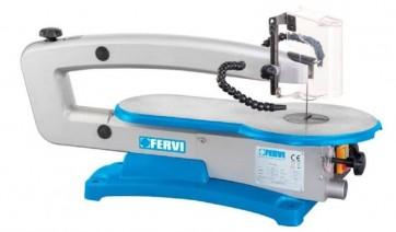 Банциг за дърворезба FERVI - 0144 - 120 W, 550-1650 оборота, 127 мм.