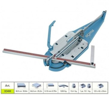 Машина за рязане на фаянс SIGMA - 3D4M - 90 см.