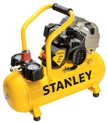 Електрически компресор STANLEY - HY227/10/12 - 1,5 kW, 222 л./мин1, 3400 оборота, 10 bar, 12 л.