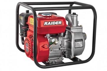 Бензинова водна помпа Raider RD-GWP04 - 3'' три цола / 4.9 kW , 30 м , 933 l/min /