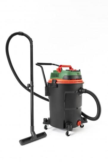 Професионална двумоторна прахосмукачка и водосмукачка за автомивки STATUS - ALS1060SF-2M - 1400 W, 20 л.