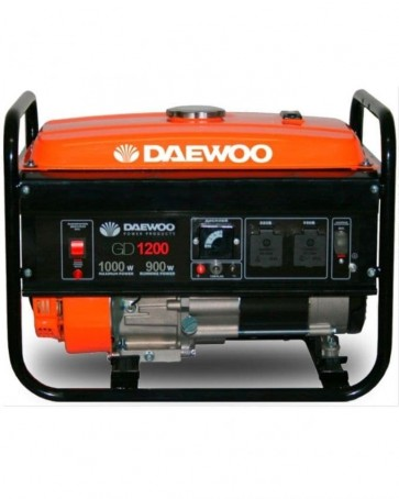 Бензинов генератор DAEWOO - GD1200 с ръчен старт - 1.0 kW, 88 CC, 4.6 A, 4.8 л.