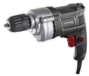 Бормашина  RAIDER 450W 10mm самоз. патр. метален корпус RDP-ID43 Black Edition