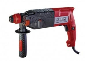 Перфоратор RAIDER   750W 2.2kg 26mm 3 функции рег. обороти RD-HD54