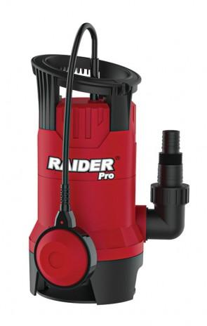 "Помпа водна RAIDER  потопяема за мръсна вода  400W 1"" 125L/min 5m 10m кабел RDP-WP42"