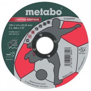 METABO Диск за метал 125х1.0х22.2mm A60T Inox.