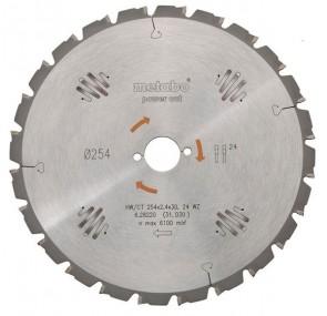 METABO Диск за циркуляр 315х2.4х30.0mm 24 WZ 20°