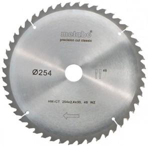 METABO Диск за циркуляр 254х2.4х30.0mm 48 WZ 5° neg.