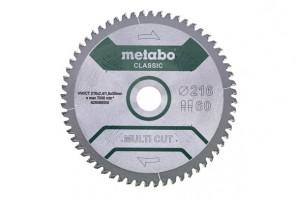METABO Диск за циркуляр 216x2.4x30mm 60 FZ/TZ 5° neg
