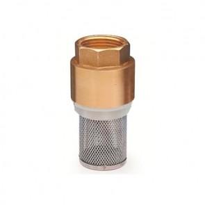 """Смукател с метален възвратен клапан 1"""", 50102 - City Pumps FV 1"""