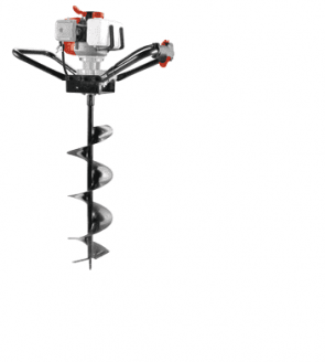 Моторен свредел RAIDER - RD-EA01 / без свредло / - 1.65 kW, 52 см3, 1200 мл., 200 мм.
