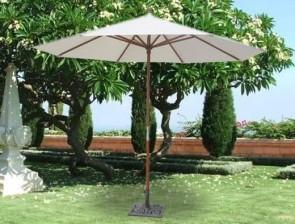 Чадър с дървена стойка - TOPGARDEN