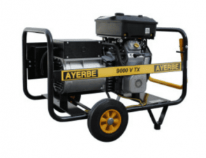 Трифазен бензинов генератор AYERBE - 9000 V TX - 400 V, 7,1 kW, 3000 оборота, 6,5 л. / ръчно стартиране /
