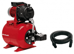Хидрофорна помпа EINHELL - GC-WW 6538 Set - 650 W, 3800 л./ч., 3,6 bar, 20 л. + Смукателен маркуч с клапан 7 м.