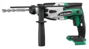 Акумулаторен перфоратор HiKOKI - HITACHI - DH18DSL-W4Z - 18 V, Li-Ion, 0-1500 оборота, 0-6200 удара, 1,4 J, SDS+ / Без батерия и зарядно устройство /