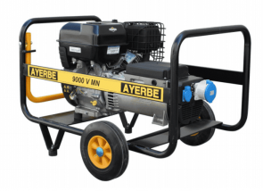 Монофазен бензинов генератор AYERBE - 9000 V MN Electrique - 230 V, 7,1 kW, 3000 оборота, 6,5 л. / електрическо стартиране /