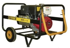 Монофазен бензинов генератор AYERBE - 8000 H MN Electrique - 230 V, 6,4 kW, 3000 оборота, 6,5 л. / електрическо стартиране /