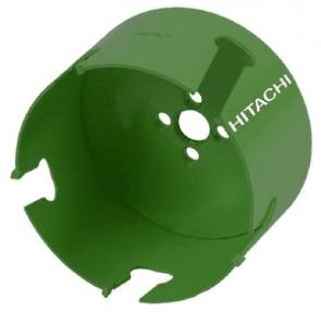 Боркорона за дърво, пластмаса и тухла с твърдосплавна пластина HiKOKI - HITACHI - 754217 - HW, 65 мм., ф 60 мм.