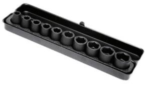 "Вложки комплект усилени HiKOKI - HITACHI - 751879 - 1/2"", 10-24 мм. / 10 бр. /"