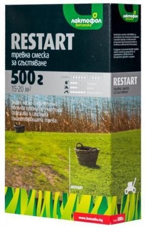 """Тревна смеска ЛАКТОФОЛ - """"Restart"""" - 0,5 кг. / 15-20 м2"""