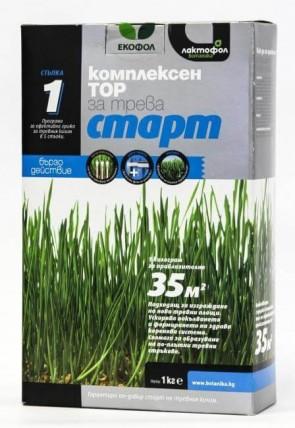 Стартиращ тор за трева ЛАКТОФОЛ - 1 кг. / 35 м2