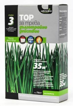 Комплексен тор за трева с дълготрайно действие ЛАКТОФОЛ - 2 кг. / 70 м2