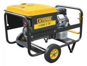 Трифазен бензинов генератор AYERBE - 11000 V TX Electrique - 400 V, 8,0 kW, 3000 оборота, 15 л. / електрическо стартиране /