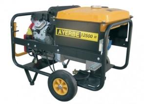 Монофазен бензинов генератор AYERBE - 12500 H MN - 230 V, 10 kW, 3000 оборота, 25 л. / електрическо стартиране /