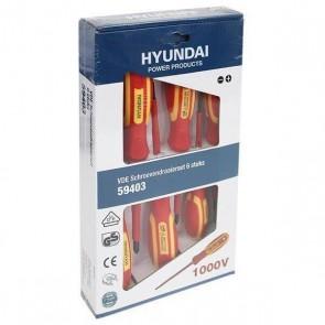 Отвертки HYUNDAI - HY59403 - 6 части