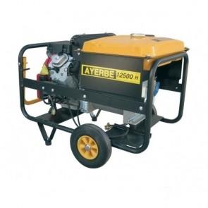 Трифазен бензинов генератор AYERBE - 12500 H TX - 10 kW, 3000 оборота, 25 л. / електрическо стартиране /