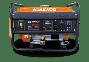 Бензинов монофазен генератор DAEWOO - GD2200 с ръчен старт - 2,2 kW, 196 CC, 9,1 A, 15 л.