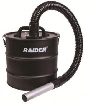 Контейнер за пепел метален с HEPA филтър за прахосмукачка RAIDER - 20 л., 80 см.