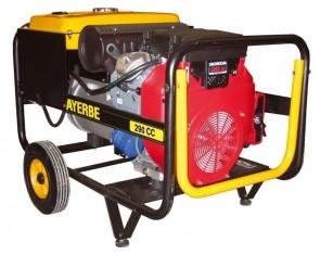 Трифазен бензинов заваръчен генератор AYERBE - 290 CC TX - 400 V, 8,0 kW, 3000 оборота, 250 A, 5,0 мм.