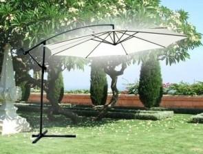 Чадър с метална стойка - TOPGARDEN