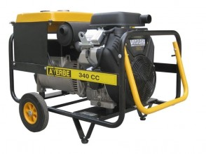 Трифазен бензинов заваръчен генератор AYERBE - 340 CC - 400 V, 8,0 kW, 3000 обороти, 300 A, 5,0 мм.