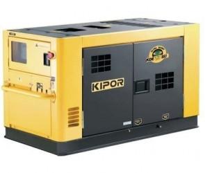 Дизелов генератор KIPOR POWER - KDE 13 SS3