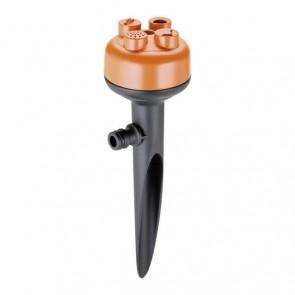 Разпръсквач с колче CLABER - VARIO-JET - 50-95 м², 8-11 м., 9,3-17,2 л./мин1, 1-4 bar / 4 функции /