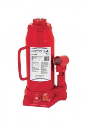 """Хидравличен крик тип """"бутилка"""" RAIDER - RD-HB10 - 200-385 мм., 10 т."""