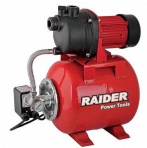 "Хидрофор RAIDER - RD-WP800 - 800 W, 55 л./мин1, 3 bar, 40/8 м., 1"""