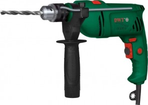 Ударна бормашина DWT - SBM-600 - 600 W, 0-2800 оборота, 44800 удара, 20/16/13 мм.