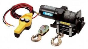 Електрическа лебедка FERVI - 0630/0900 - 0,7 kW, 12 V, 450 кг., 15 м.