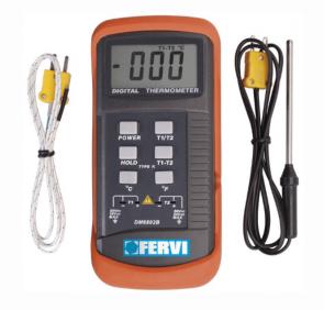 Термометър за готвене дигитален със сонда FERVI - T063 - -50 до +1200 °C