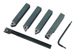 Комплект стругарски ножове със сменяеми пластини FERVI - B007/12 - / 6 части /