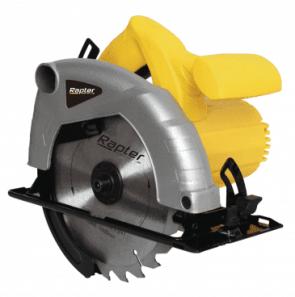 Ръчен циркуляр RAPTER - RR CS-10 - 1300 W, 4800 оборота, 185 мм.