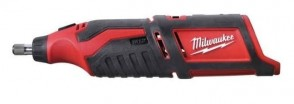 Акумулаторен прав шлайф MILWAUKEE - C12 RT-0 - RedLi-ion, 12 V, 5000/32000 оборота / без батерия /
