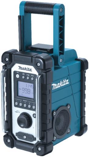 Акумулаторно радио MAKITA - DMR107 - Li-ion, 230 V, 9,6-24 V / без батерия /