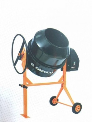 Бетонобъркачка DAEWOO - DACM 160H - 650 W, 30 оборота, 160 л.