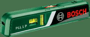 Лазерен нивелир BOSCH - PLL 1P - 635/650 nm, ± 0.5 мм./м., 5/20 м.