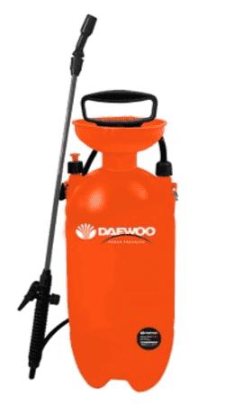 Пръскачка раменна с метален удължител DAEWOO - DAPS8B - 8 л., 2,3-3,1 bar, 130 см.